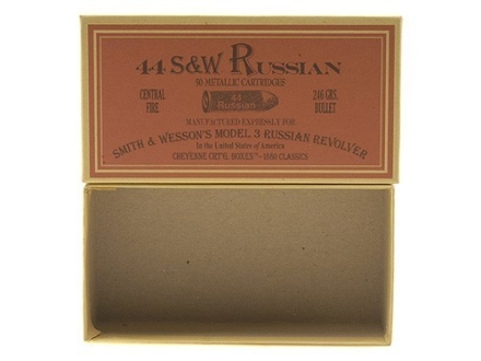 Cheyenne Pioneer Cartridge Box 44 Russian Chipboard Package of 5