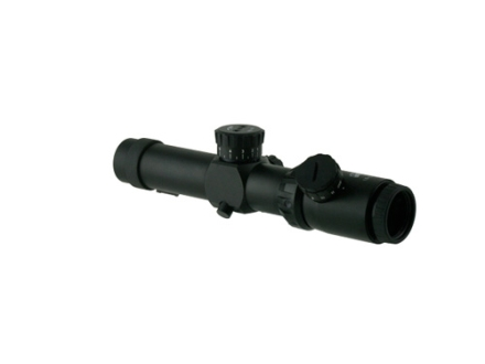 Valdada IOR Tactical Rifle Scope 35mm Tube 1.5-8x 26mm 308 BDC Turret Illuminated CQB-BDC Reticle Matte with Picatinny-Style Rings