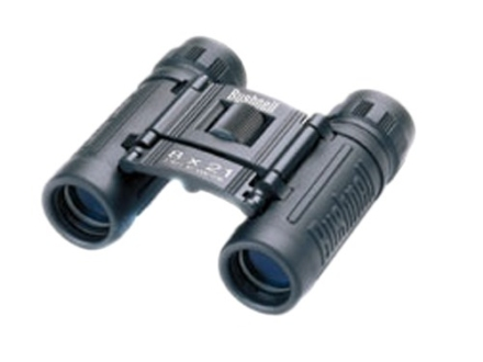 Bushnell Powerview Binocular 8x 21mm Compact Roof Prism Rubber Armored Black