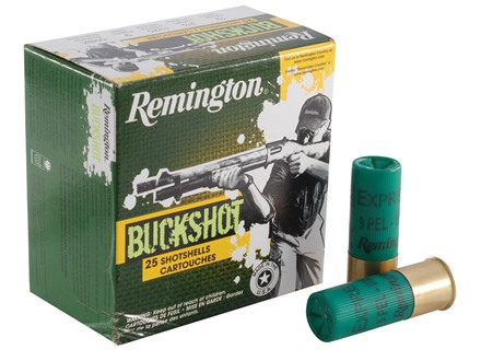 Remington Express Ammunition 12 Gauge 2-3/4&quot; 00 Buckshot 9 Pellets