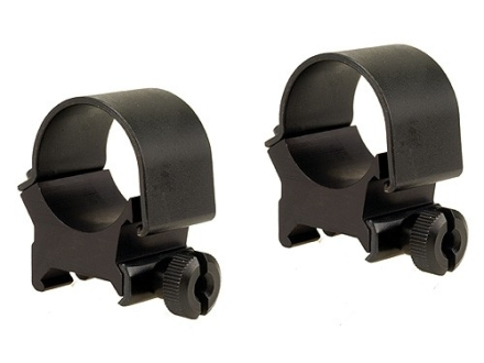 "Weaver 1"" Top-Mount Rings Matte High"