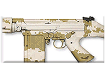 Lauer DuraCoat EasyWay Camo Stencil Kit Only Desert MirageFlage