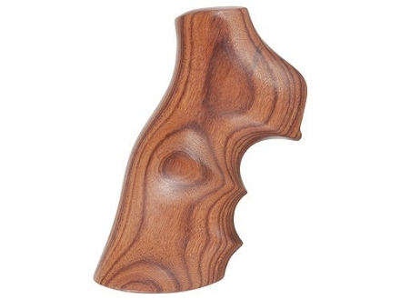 Hogue Fancy Hardwood Grips with Finger Grooves Ruger GP100, Super Redhawk Pau Ferro