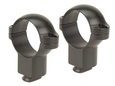 "Leupold 1"" Dual-Dovetail Rings Matte Super-High"