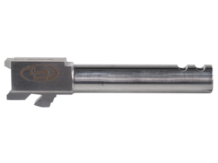 Storm Lake Semi-Drop-In Barrel Glock 27 40 S&amp;W 1 in 16&quot; Twist 4.16&quot; Stainless Steel with 2-Ports