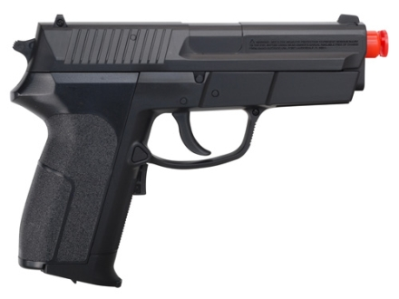 Stunt Studios Stunt Police John K Airsoft Pistol 6mm Electric Blowback Semi-Automatic Polymer Black