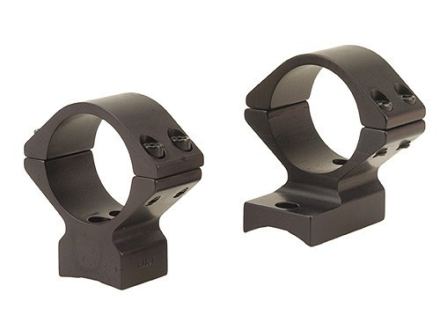 Talley Lightweight 2-Piece Scope Mounts with Integral 1&quot; Rings Remington 7 Matte Low