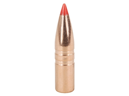 Hornady Gilding Metal Expanding Bullets 243 Caliber, 6mm (243 Diameter) 80 Grain GMX Boat Tail Lead-Free Box of 50