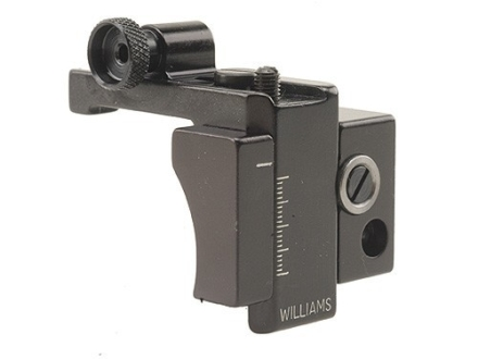 Williams 5D-03/A3 Receiver Peep Sight Springfield 1903A3 Aluminum Black