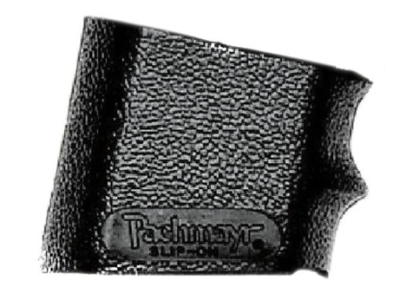 Pachmayr Slip-On Grip Sleeve with Finger Grooves Small Rubber Black