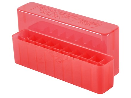 MTM Slip-Top Ammo Box 22-250 Remington, 243 Winchester, 308 Winchester 20-Round Plastic