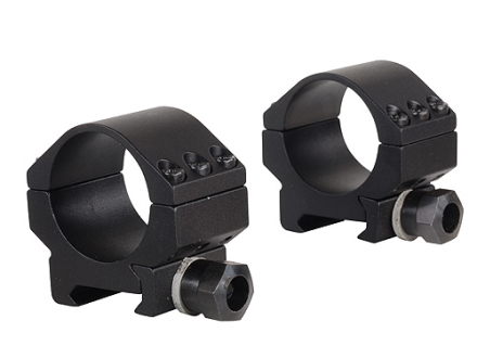 Millett 30mm Picatinny-Style Tactical Rings Matte Low