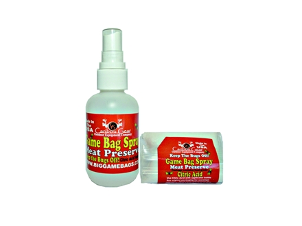 Caribou Gear Meat Preserve Spray Concentrate Powder 2 oz