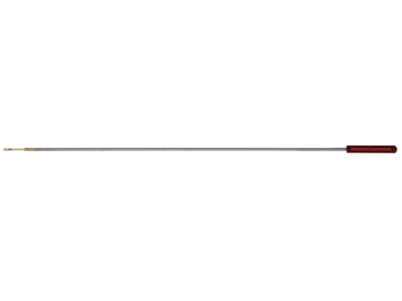 Pro-Shot Premium 1-Piece Micro-Polished Cleaning Rod 27 Caliber 42&quot; Stainless Steel 8 x 32 Thread with Patch Holder