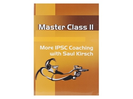 CED Video &quot;Master Class 2: More IPSC Coaching with Saul Kirsch&quot; DVD