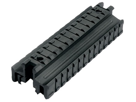 Leapers UTG Deluxe Picatinny-Style See-Thru Riser Mount with Three Picatinny-Style Rails AR-15 Flat-Top Matte