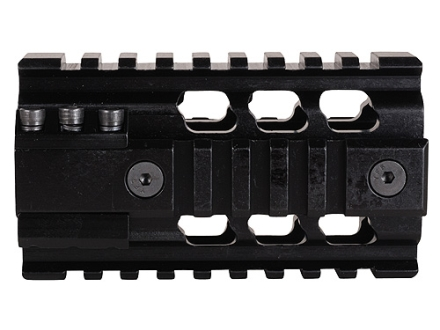 Falcon Industries 2-Piece Z Rail Free Float Handguard Quad Rail AR-15 Aluminum Black