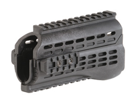 Command Arms Quad Rail Handguard Galil, Century Golani Sporter Polymer Black
