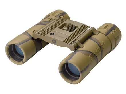 Simmons ProSport Binocular 10x 25mm Roof Prism Rubber Armored Camo