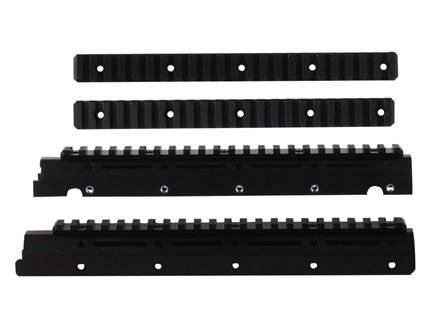 Kel-Tec Modular Picatinny Handguard with 4 Rail Sections Kel-Tec SUB-2000 Aluminum Matte