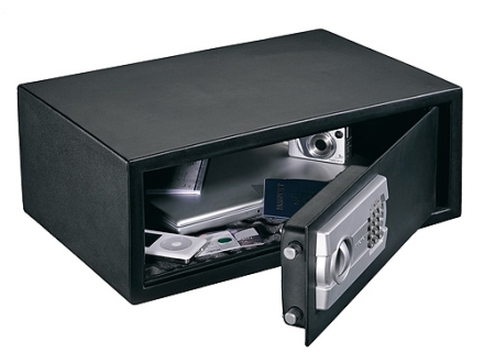 "Stack-On ""Strong Box Safe"" Computer Electronic Lock Charcoal Gray"