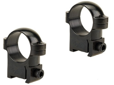 Burris 1&quot; Ring Mounts CZ 527 Short Action Gloss Medium