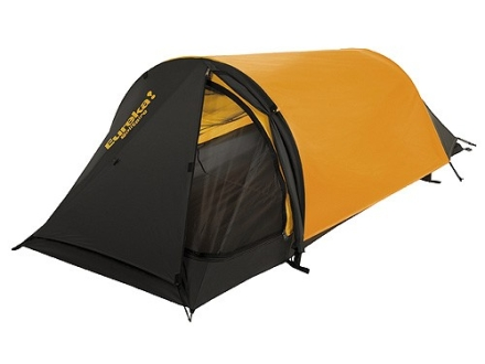 Eureka Solitaire 1 Man Bivy Tent 32&quot; x 96&quot; x 28&quot; Nylon Taffeta Yellow and Black