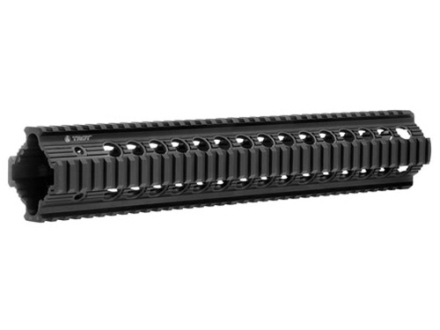 "Troy Industries 13"" Bravo Battle Rail Free Float Quad Rail Handguard AR-15 Black"