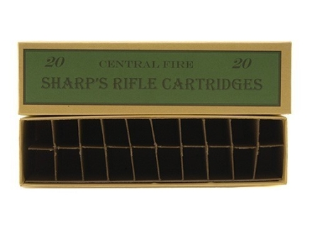 Cheyenne Pioneer Cartridge Box Sharps Rifle Chipboard Package of 5