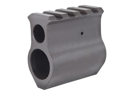 "Midwest Industries Upper Height Gas Block AR-15, LR-308 Standard Barrel .750"" Inside Diameter Steel Matte"