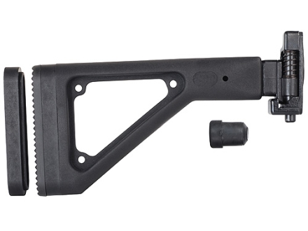 Choate Adjustable Side Folding Stock HK 91 Steel and Synthetic Black