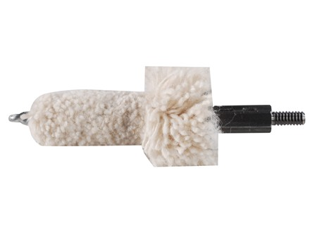 Dewey Rifle Bore Cleaning Mop 223 Caliber AR-15 8 x 32 Thread Cotton