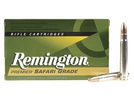 Remington Premier Ammunition 375 H&amp;H Magnum 300 Grain Swift A-Frame Box of 20