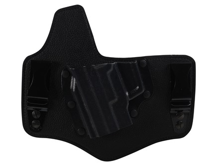 Galco King Tuk Tuckable Inside the Waistband Holster Left Hand Sig Sauer P220, 226, 228, 229  Leather and Kydex Black