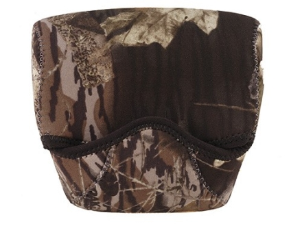 CrossTac Binocular Cover Medium Porro Prism Neoprene Reversible Black, Mossy Oak Break-Up Camo
