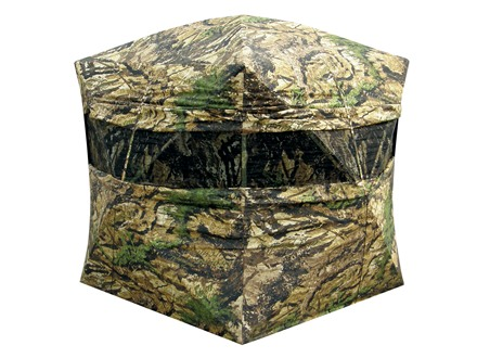 "Primos Double Bull Double Wide Ground Blind 60"" x 60"" x 72"" Polyester Ground Swat Camo"