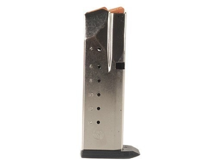 Smith &amp; Wesson Magazine S&amp;W SW40C, SW40E, SW40G, SW40P, SW40VE, SW40V, SW357 Sigma 40 S&amp;W, 357 Sig 14-Round Stainless Steel