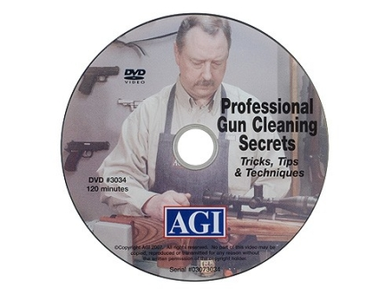 American Gunsmithing Institute (AGI) Video &quot;Professional Gun Cleaning Secrets&quot; DVD