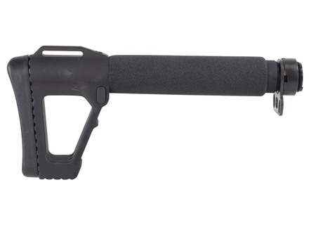 "ACE M4 SOCOM Gen 4 Buttstock 5-Position Collapsible 9-1/2"" to 11-1/2"" AR-15, LR-308 Aluminum Black"