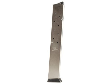 ProMag Magazine Ruger P90 45 ACP 15-Round Steel Nickel Plated