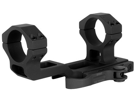 GG&G FLT Accucam Quick-Detach Extra-Extended Low Profile Scope Mount Picatinny-Style with Integral 30mm Rings AR-15 Flat-Top Matte