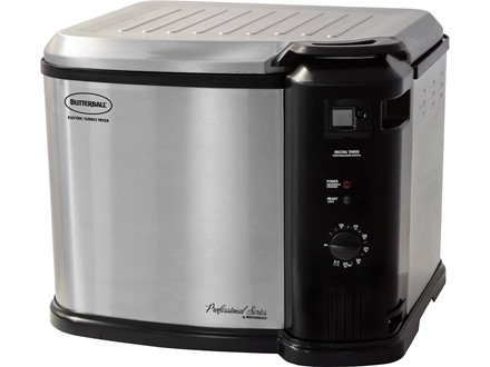 Butterball XL Indoor Electric Turkey Fryer with Digital Timer Stainless Steel