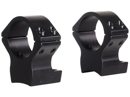 "Talley Lightweight 2-Piece Scope Mounts with Integral 1"" Rings Browning X-Bolt Matte Medium"