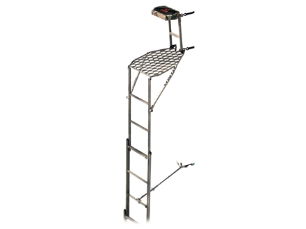 Leverage Speed Ladder Packable Ladder Treestand Aluminum Grey
