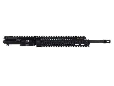 "Adams Arms AR-15 A3 Tactical Elite Mid Length Gas Piston Upper Assembly 5.56x45mm NATO 1 in 7"" Twist 16"" Barrel Melonite Finish with 12"" Extended Free Float Quad Rail Handguard, Flash Hider"