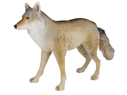 Flambeau Lone Howler Flocked Coyote Decoy Polymer