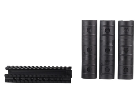 GMG 3-Rail Forend with Rail Covers Remington 870 12 Gauge Aluminum Black