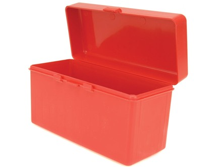 MTM Flip-Top Ammo Box 270 Winchester, 30-06 Springfield, 300 Winchester Magnum 60-Round Plastic