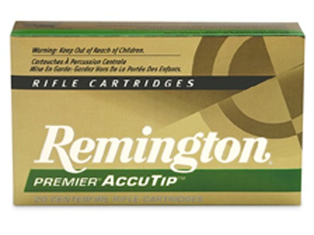Remington Premier Ammunition 300 AAC Blackout (7.62x35mm) 125 Grain AccuTip Box of 20