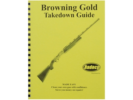 "Radocy Takedown Guide ""Browning Gold"""